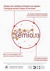 Semio 2013 conference poster